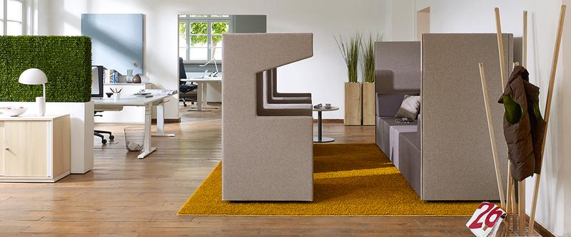B roplanung m nchen b roeinrichtung b rom bel planung open space b ro akustik - Buroeinrichtung modern ...